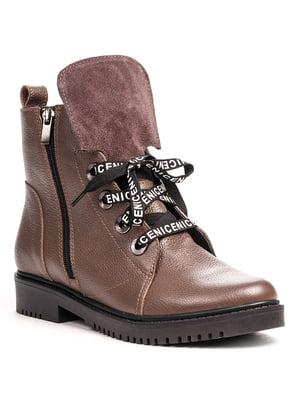 Ботинки цвета капучино | 5202887