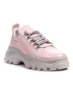 Кроссовки розовые | 5202892