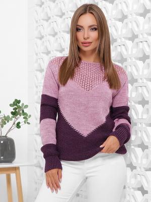Джемпер фіолетовий | 5205595