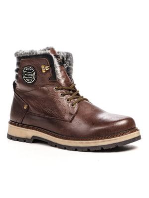 Ботинки коричневые | 5202871