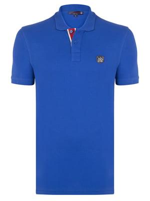 Футболка-поло синяя | 5206667