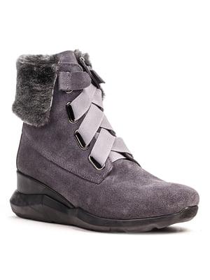 Ботинки серые | 5201485