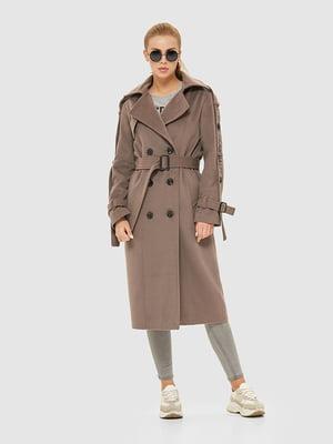 Пальто кольору капучино | 5207064