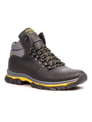 Черевики чорно-жовті | 5201481
