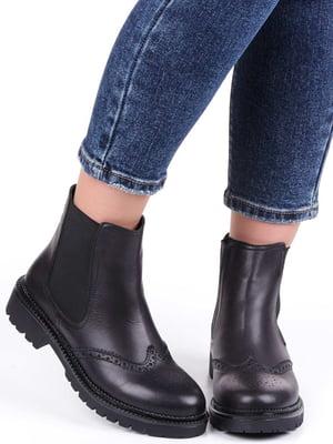 Ботинки черные | 5207165