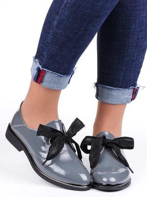 Туфли серые | 5207207