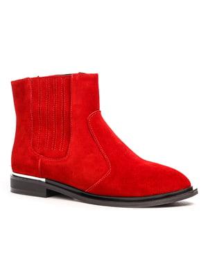 Ботинки красные   5201488
