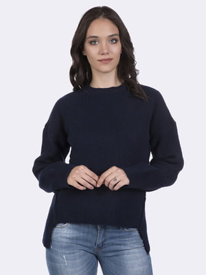 Джемпер темно-синий   4403578