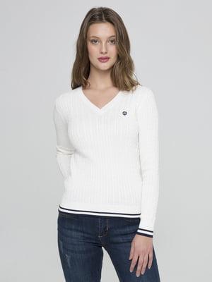 Пуловер білий | 4723853
