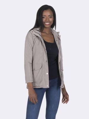 Куртка сіра | 4860207