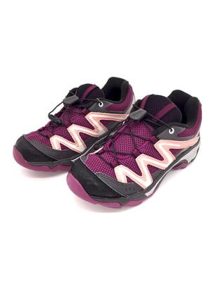 Кросівки чорно-фіолетові - Salomon - 5207694