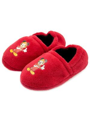 Тапочки червоні | 5207850