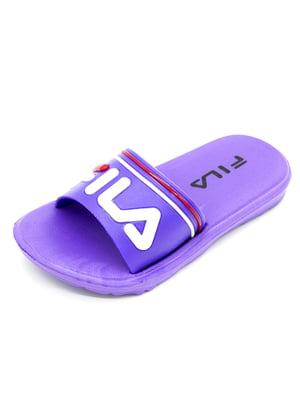Тапочки фиолетовые   5207955