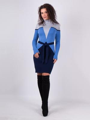 Платье трехцветное | 5204524