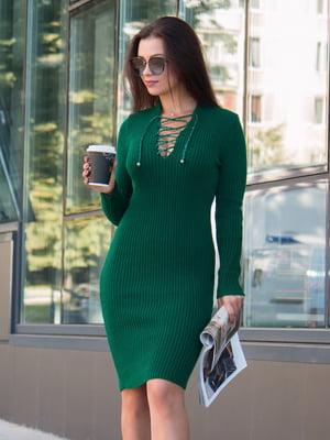 Платье зеленое - GUASH - 5204576