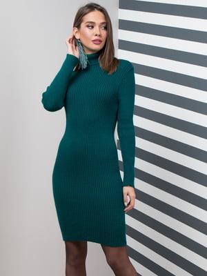 Платье изумрудного цвета | 5204615