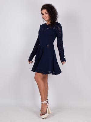 Платье синее | 5204563
