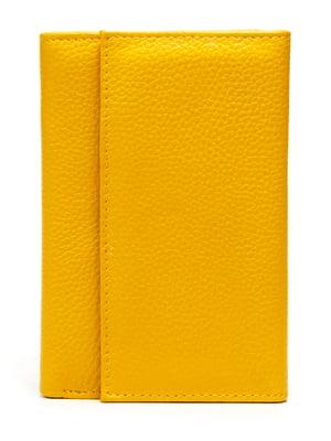 Кошелек желтый   5202110