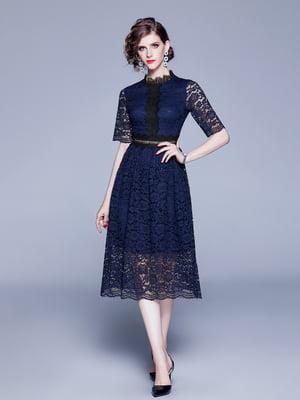 Платье синее | 5209303