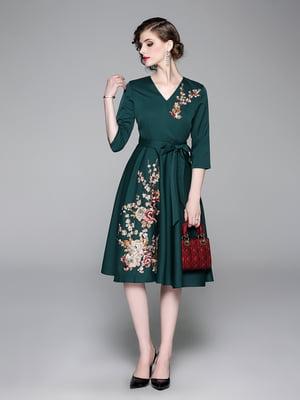 Платье зеленое | 5209339