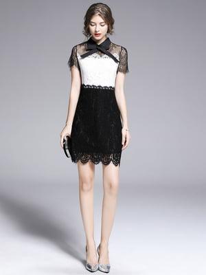 Платье черно-белое | 5209425