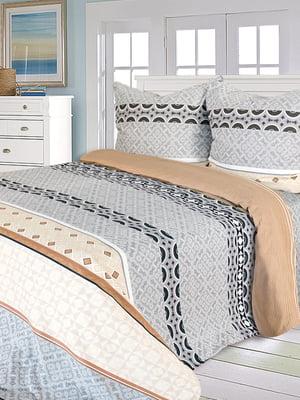 Комплект постельного белья евро | 5209489