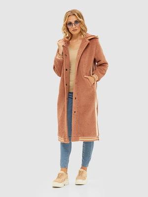 Пальто цвета капучино | 5209521