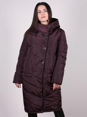Пальто коричневе | 5204938