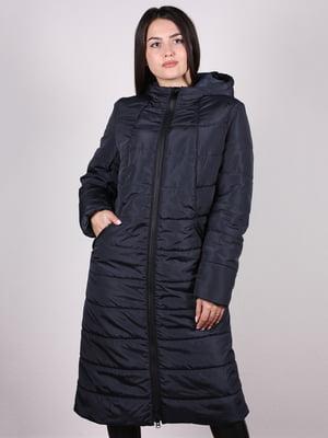 Пальто темно-синє | 5204939