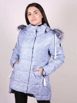 Куртка голубая - Icon - 5204964