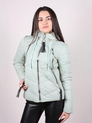 Куртка мятного цвета | 5204968