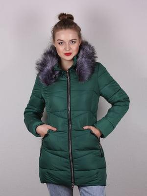 Пальто изумрудного цвета | 5204988