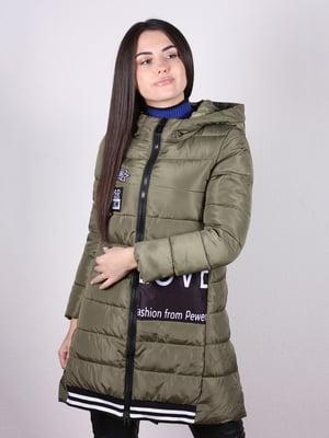 Пальто цвета хаки | 5204996