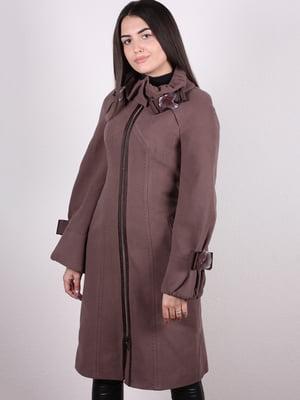 Пальто коричневе - Albanto - 5205146