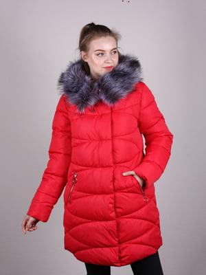 Пальто красное | 5205202