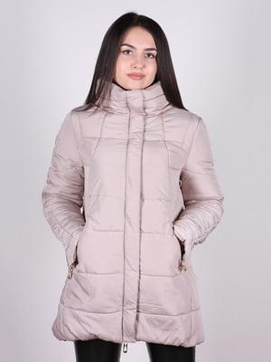 Куртка бежевая | 5205206