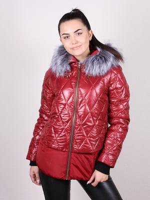 Куртка бордовая   5205211