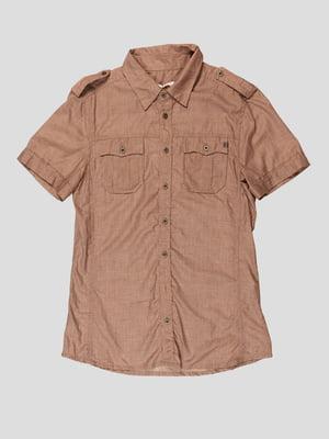 Рубашка бежевая | 4768798