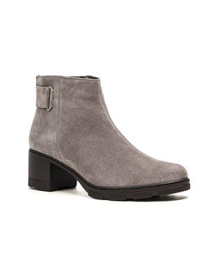 Ботинки серые | 5203157