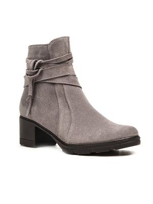 Ботинки серые | 5203156