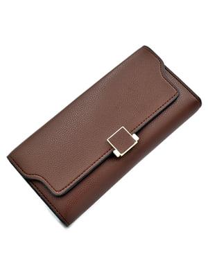 Гаманець коричневий | 5211331