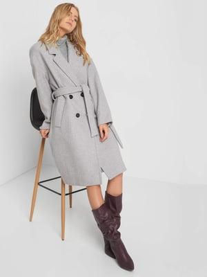 Пальто серое | 5211404