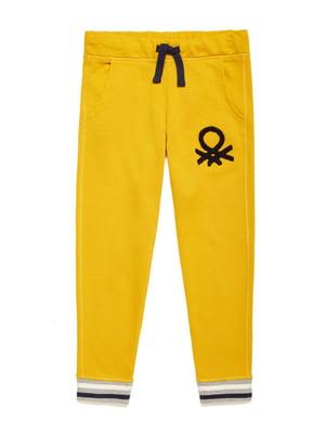 Брюки желтые | 5183899