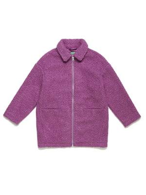 Пальто сиреневое | 5211553