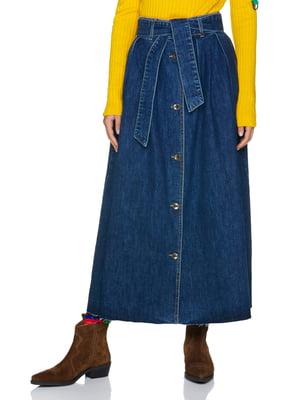 Юбка синяя джинсовая   5184120