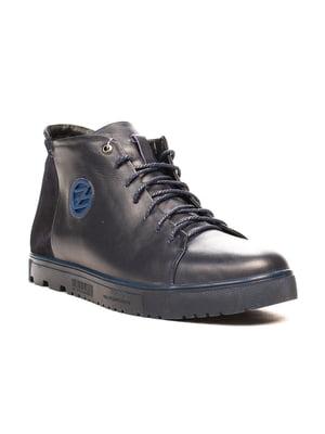Ботинки темно-синие | 5204397