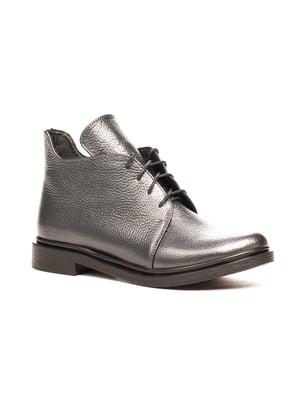 Ботинки серые | 5204400