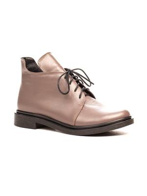 Ботинки цвета капучино | 5204403