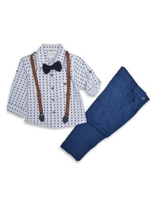 Костюм: брюки, рубашка и галстук-бабочка | 5211763