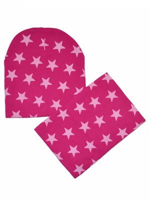 Комплект: шапка и шарф-снуд   5211814